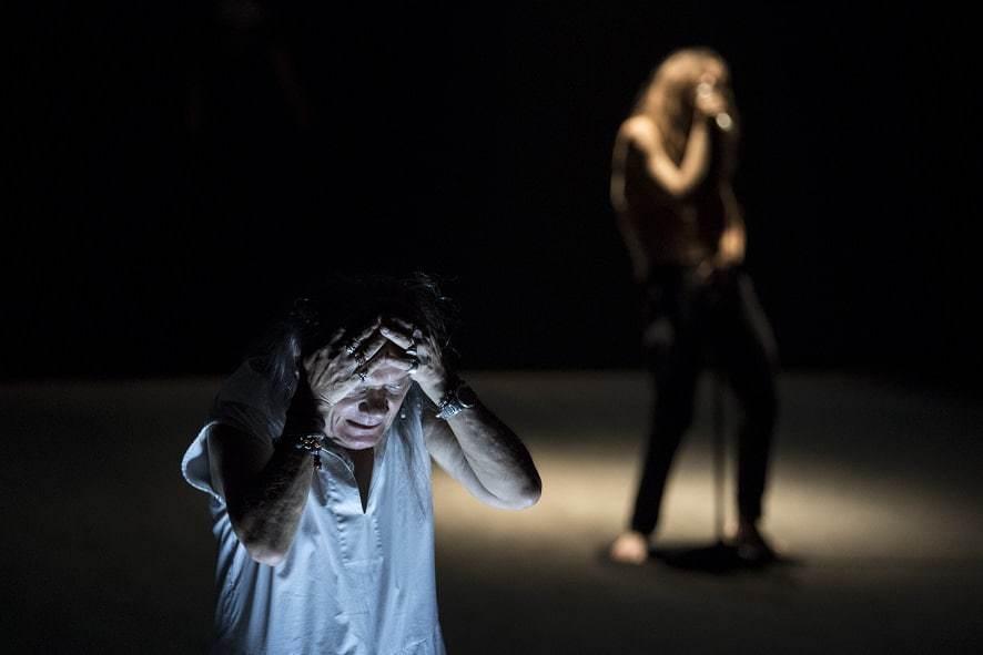 Le Baccanti regia Andrea De Rosa foto Marco Ghidelli (3)