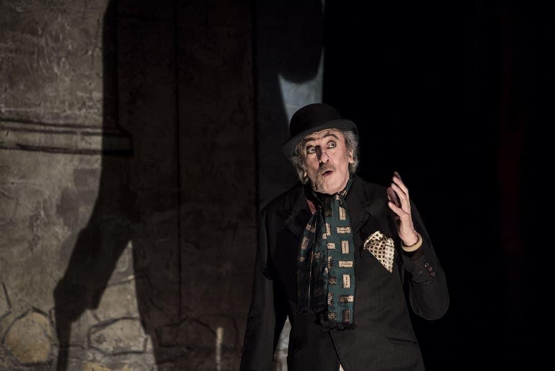 Mariano Rigillo in Eden Teatr di Alfredo Arias foto marco ghidelli