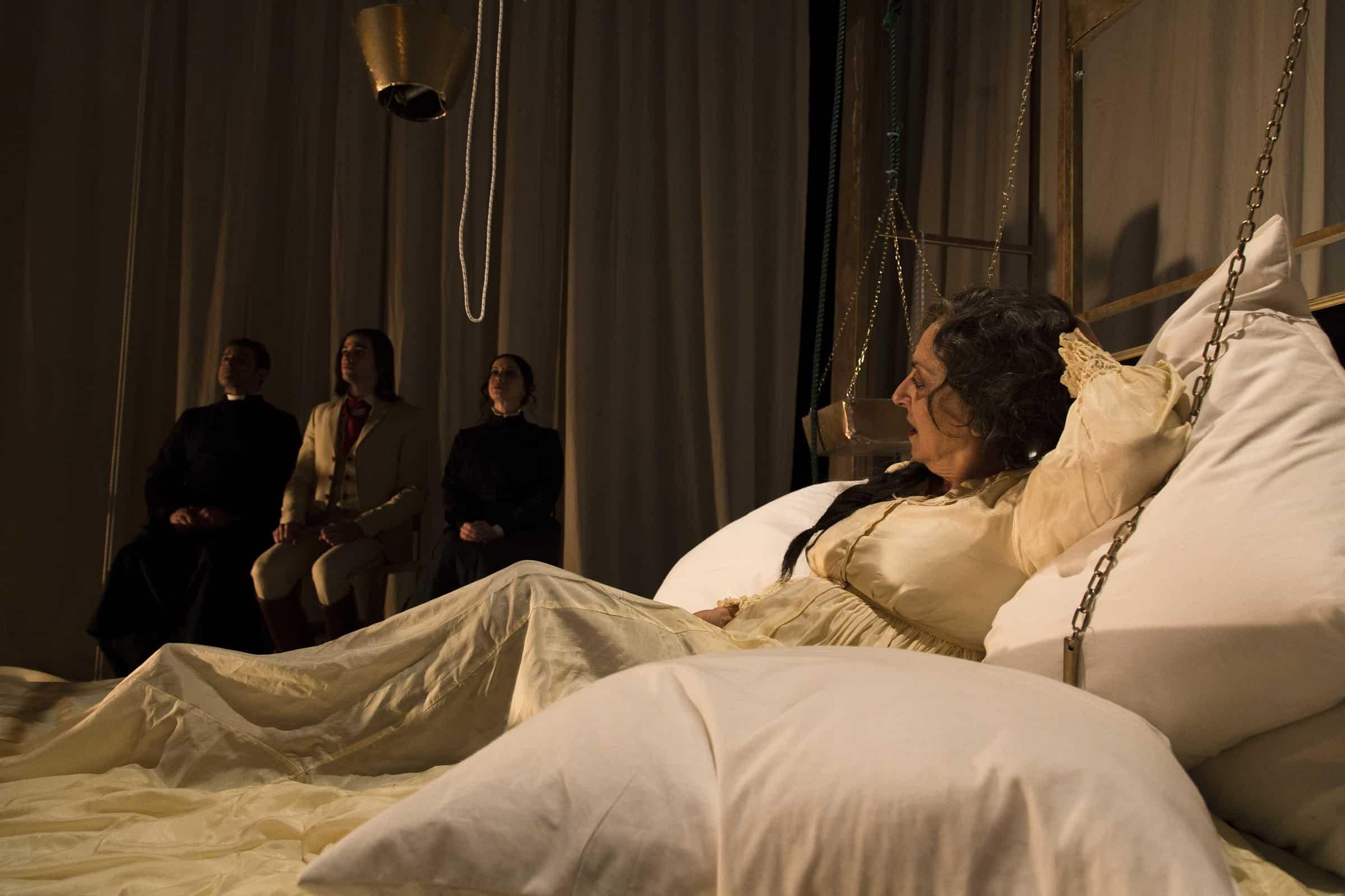 Gea Martire in Ferdinando regia Nadia Baldi